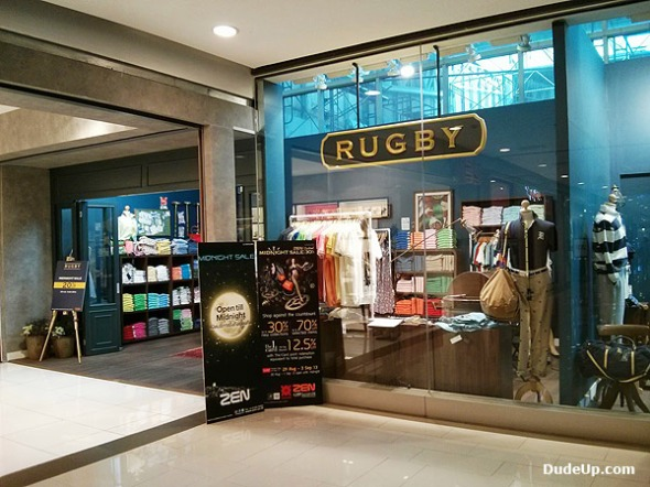 Rugby Ralph Lauren Shop in Bangkok